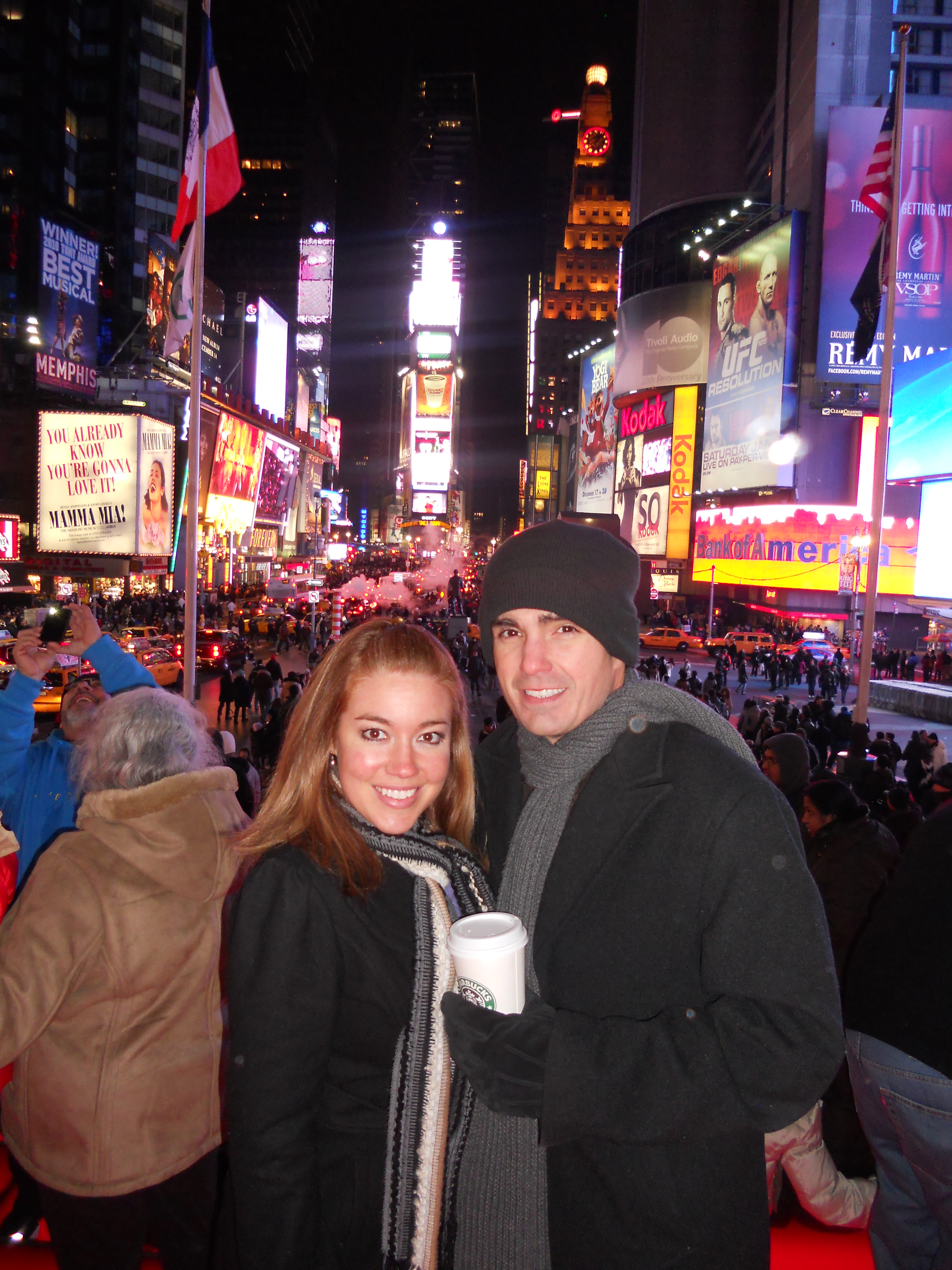 Stranded In New York City For New Year's Eve