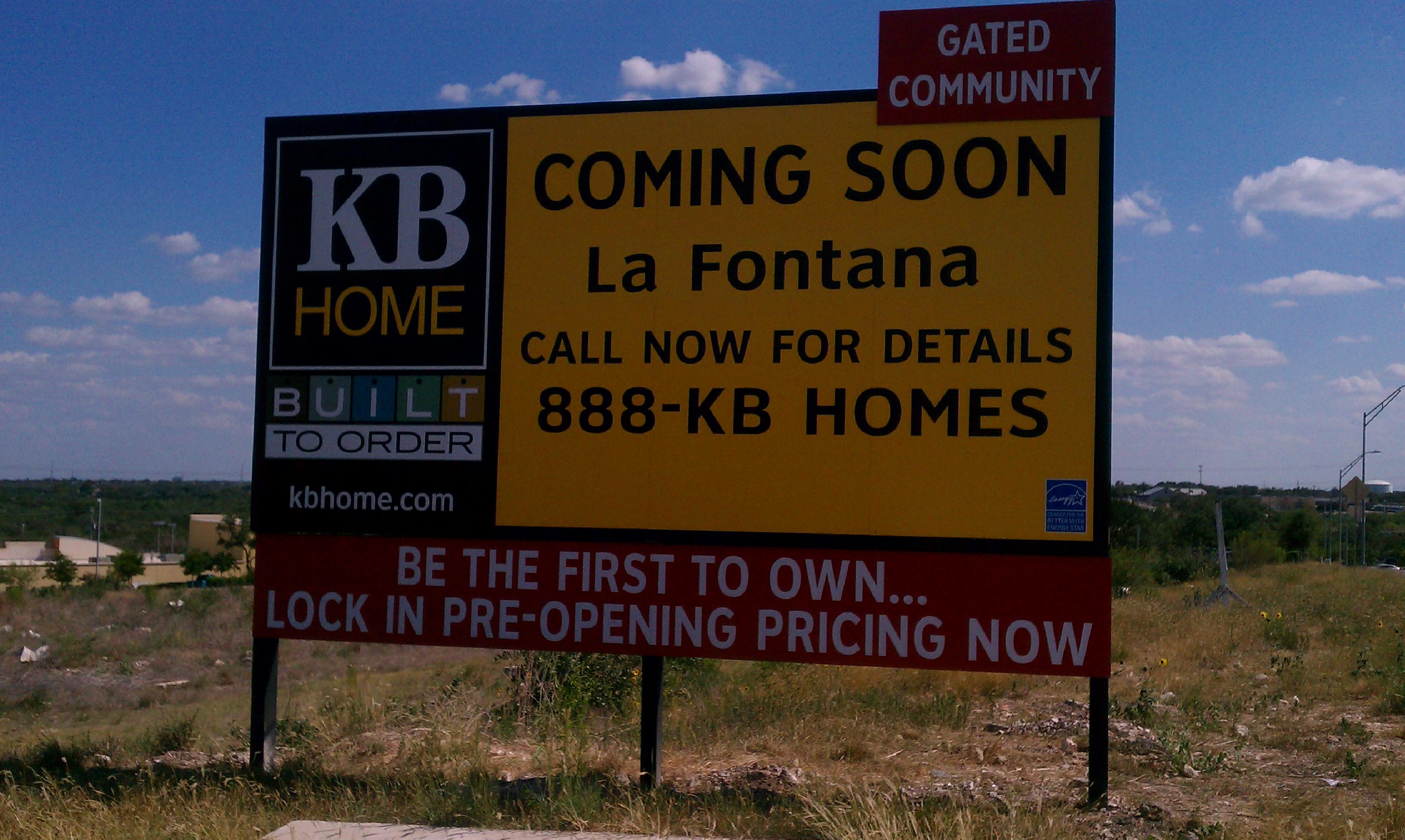kb home sign simple minimalist home ideas